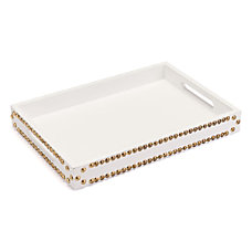 Zuo Modern Tray With Studs White