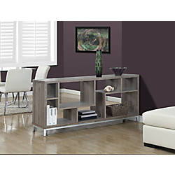 Monarch Specialties Open Concept TV Stand