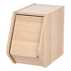 IRIS Modular Stacking Storage Box With
