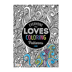 Bendon Adult Coloring Book Patterns By Office Depot Officemax