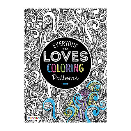 bendon adult coloring book patterns