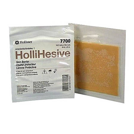 "Hollister Hollihesive™ Skin Barrier, 4"" x 4"", Pack Of 5"