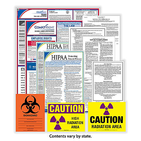 ComplyRight Federal, State And Healthcare Poster Subscription Service, English, Florida