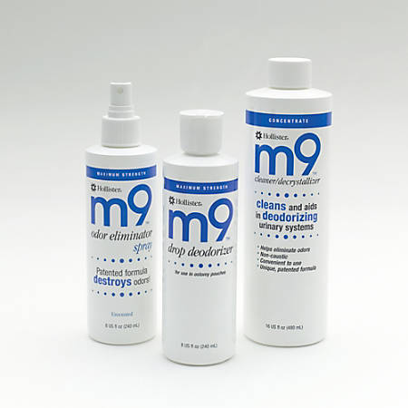 m9™ Odor Eliminator Non-Aersol Spray, Scented, 8 Oz