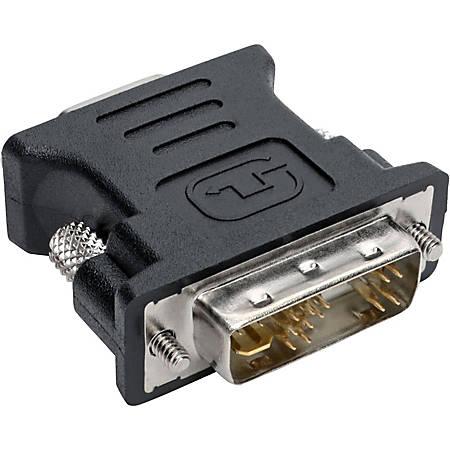 Tripp Lite DVI to VGA Adapter Converter DVI-A Analog Male HD15 Female - (DVI-I A-M to HD15-F)