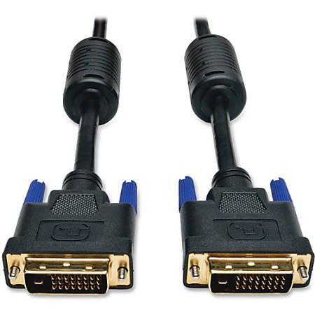 Tripp Lite 6ft DVI Dual Link Digital TMDS Monitor Cable Shielded DVI-D M/M 6'