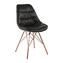 Ave Six Langdon Chair BlackRose Gold