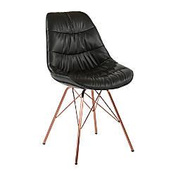 Ave Six Langdon Chair BlackRose Gold