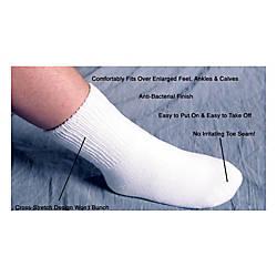 Pedifix SeamLess Oversized Socks Men Size