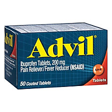 Advil Pain RelieverFever Reducer Ibuprofen Tablets