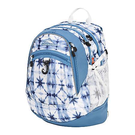 High Sierra® Fatboy Laptop Backpack, Indigo Dye/Mineral