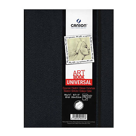 "Canson Art Book Universal Hardbound Sketchbook, 8 1/2"" x 11"""