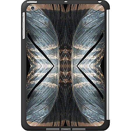 OTM iPad Mini Black Matte Case Feather Collection, Doubles
