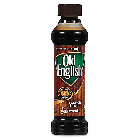 Old English® Furniture Scratch Cover For Dark Woods, 8 Oz, Citrus Scent