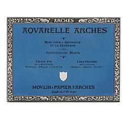 Arches Aquarelle Watercolor Block 300 Lb