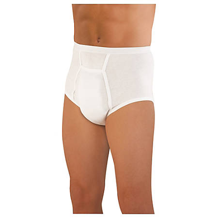 """Sir Dignity® Fitted Brief, X-Large, 42""""-44"""""""
