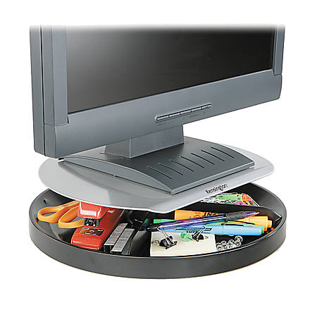 Kensington® Spin2 Monitor Stand With SmartFit™ System, Black