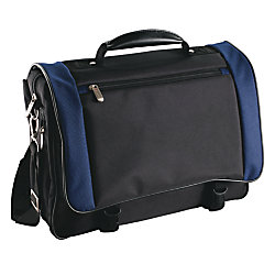 FORAYTM Expandable Messenger Bag With Flap Over Organizer 14H X 1675