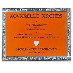 Arches Aquarelle Watercolor Block 140 Lb