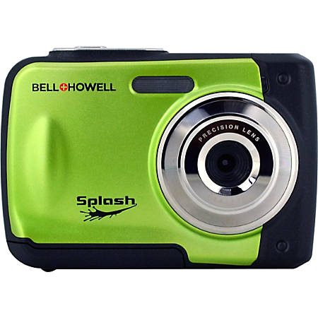 "Bell+Howell WP10 Compact Camera - Green - 2.4"" LCD - 8x Digital Zoom - 4032 x 3024 Image - 640 x 480 Video"