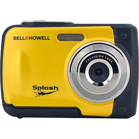 "Bell+Howell WP10 Compact Camera - Yellow - 2.4"" LCD - 8x Digital Zoom"