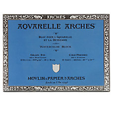 Arches Aquarelle Watercolor Block 300 Lb