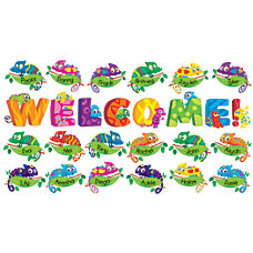 Scholastic Teachers Friend Welcome Chameleons Bulletin