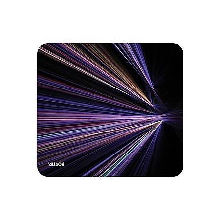 Allsop NatureSmart Mousepad Tech Purple Stripes