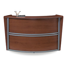 OFM Single Marque Reception Station Cherry