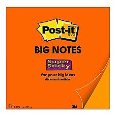 Post it Notes Super Sticky Big