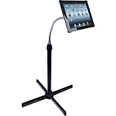 CTA Digital Height Adjustable Gooseneck Floor