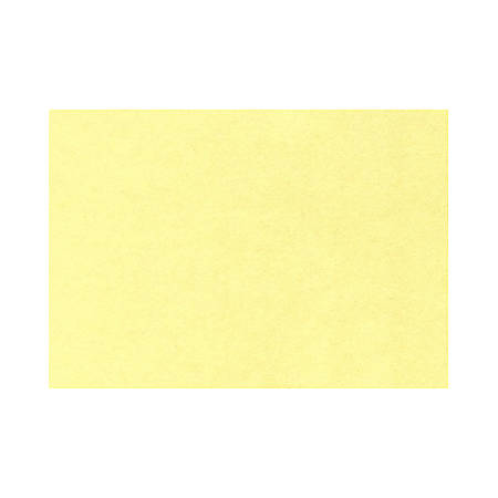 """LUX Flat Cards, A9, 5 1/2"""" x 8 1/2"""", Lemonade Yellow, Pack Of 1,000"""