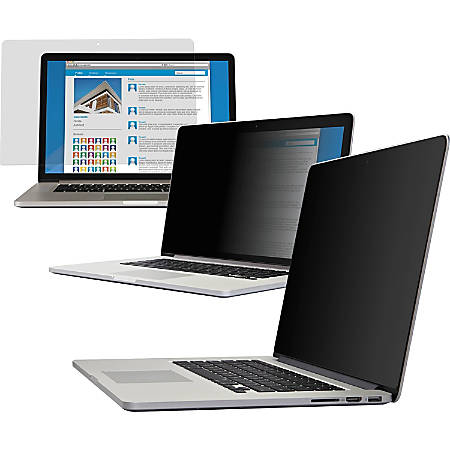 "V7 15.6 Inch Privacy Filter - For 15.6"" Widescreen LCD Notebook, Monitor - 16:9 - Scratch Protection"