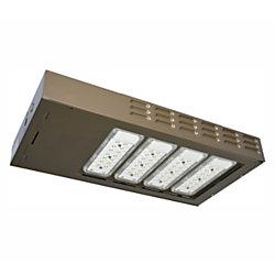 US LED QubeLot3 LED Area Light Fixture, 347-480V, 5000 Kelvin, 220-Watt, 25,170 Lumens, Bronze