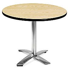 OFM Multipurpose Folding Table Round 36