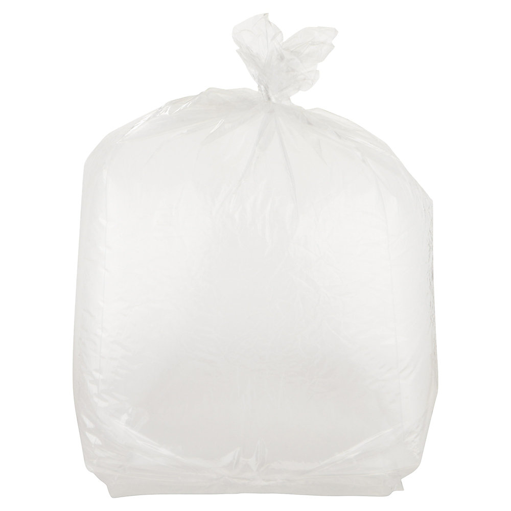 Keep produce, sandwiches and other foods fresh with these storage bags. The clear material makes it easy to identify what's inside.  Heavy-duty material with a 1-mil thickness guards against tearing.  Helps keep food fresh and neatly stored away.  22-quart capacity accommodates a variety of items.  Closure provides a secure seal.  Clamshell carton allows easy dispensing.  FDA approved.