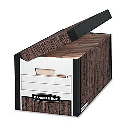 Bankers Box 35percent Recycled Systematic Storage