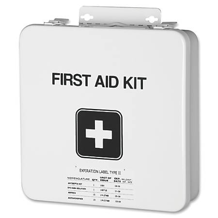 SKILCRAFT® Industrial/Construction First Aid Kit, 169 Pieces (AbilityOne 6545-00-656-1093)