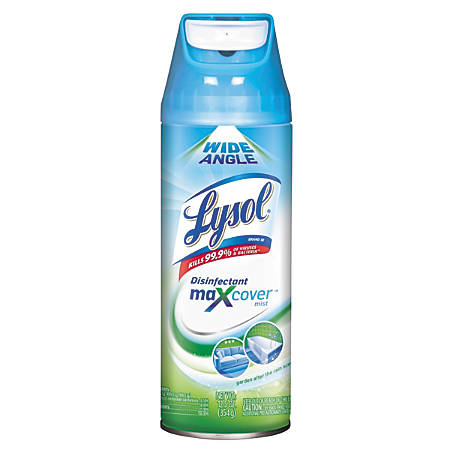 Lysol® Max Cover™ Disinfectant Mist, Garden After The Rain, 12.5 Oz