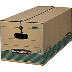Bankers Box StorFile 100percent Recycled Storage