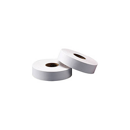 Office Depot® Brand General Purpose Adhesive Pricemarking Labels, White, 1750 Labels/Roll, Pack Of 2