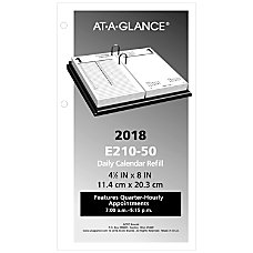 AT A GLANCE Daily Loose Leaf