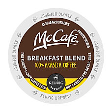 McCafe Breakfast Blend Coffee K Cup