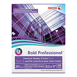 Xerox Bold Professional Quality Paper Letter
