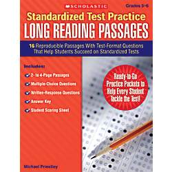 Scholastic Standardized Test Practice