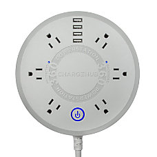 ChargeHub Powerstation 360 6 Outlet Surge