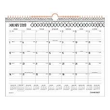Cambridge Capetown Monthly Wall Calendar 15