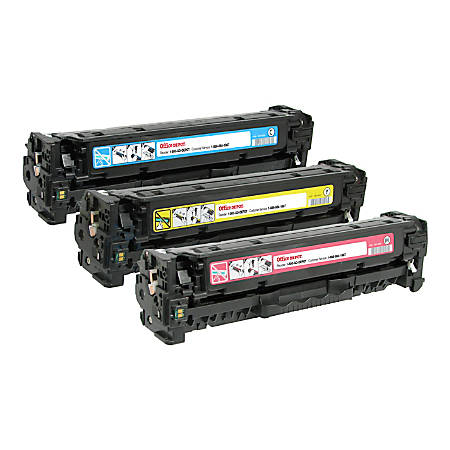 Office Depot® Brand Remanufactured Toner Cartridges Replacement For 305A Cyan/Yellow/Magenta