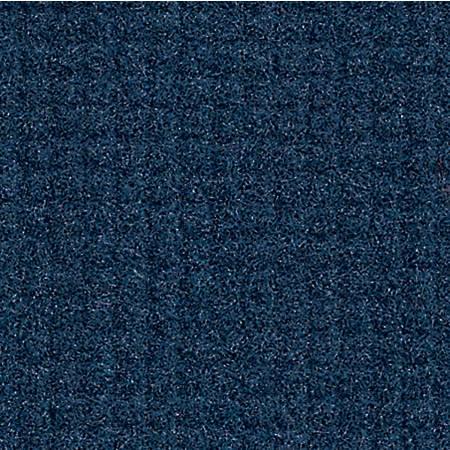 "M + A Matting Brush Hog Plus Floor Mat, 36"" x 60"", 20% Recycled, Navy Brush"