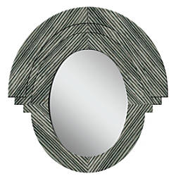 PTM Images Framed Mirror Western II